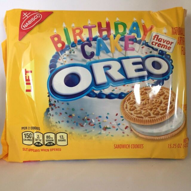 Oreo Golden Birthday Cake 432gram USA IMPORT UK Delivery eBay