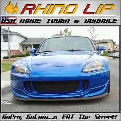 Honda Racing S2K S2000 Universal Front Rubber Chin Lip Spoiler Splitter Trim Lip