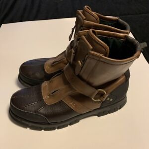Polo Ralph Lauren leather boots size 12