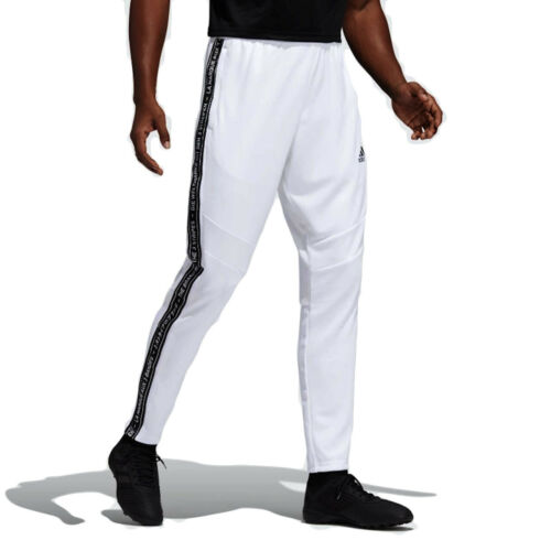 Adidas Men's TIRO 19 Training Pants, White/Black