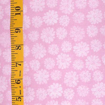 Fabric   Jo Ann Quilt Blocks  Garden Trellis  Violet Flower 100  Cotton 1 25 Yd