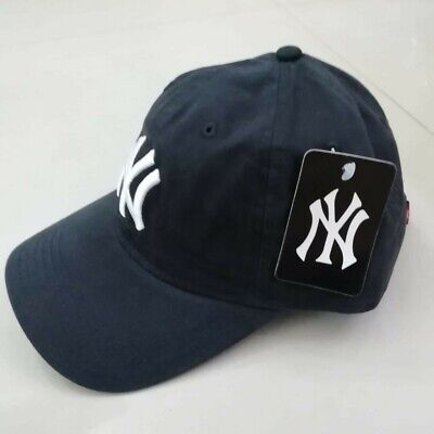 NY Yankees New Era 39thirty/ 9forty League Basic Baseball Cap Black