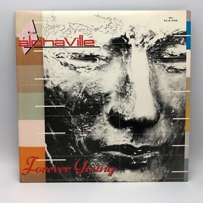 Alphaville ‎Forever Young 1984 Original Vinyl LP Record 80's Synth-Pop Near Mint