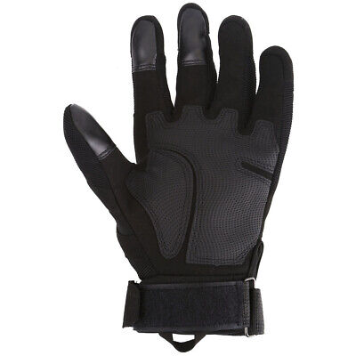 Mens Hard Knuckle Tactical Motorbike Non-Slip Leather Motorcycle Gloves M-3XL