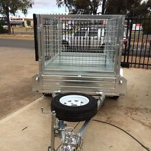 6X4 GALVANISED Caged Trailer AVAILABLE NOW!! Para Hills West Salisbury Area Preview