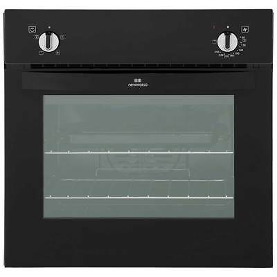 Newworld NW601F Built In Electric Single Oven 60cm Single Cavity Black New