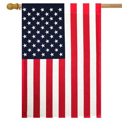 "American Flag House Flag USA Stars & Stripes 28"" x 40"" Briar"
