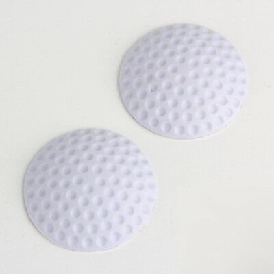 2*Self Adhesive Wall Protectors Door Handle Bumper Guard Stopper White NT5