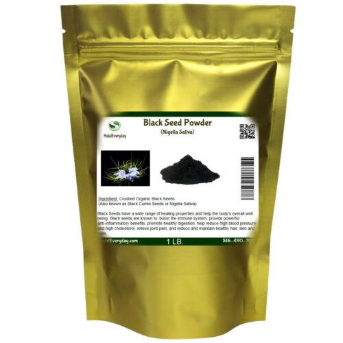 Black Cumin Seed POWDER Groud Pure Natural NIGELLA SATIVA Semilla Comino 1lb BAG