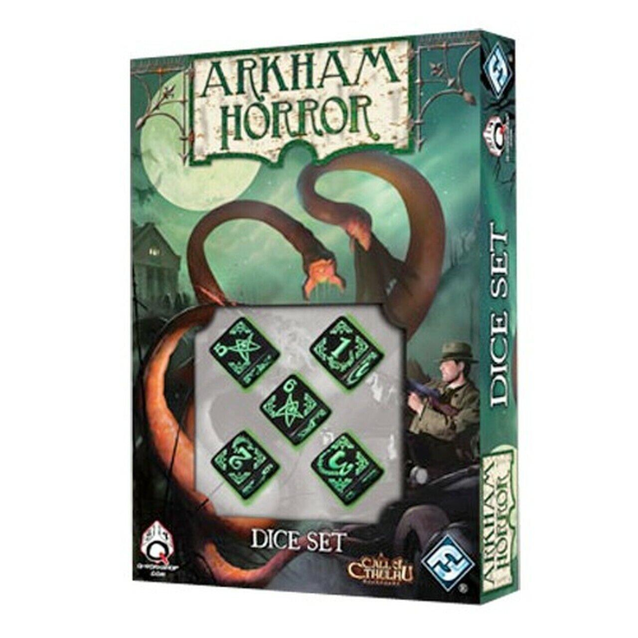 Arkham Horror Board Game Dice Set by Fantasy Flight Games FF