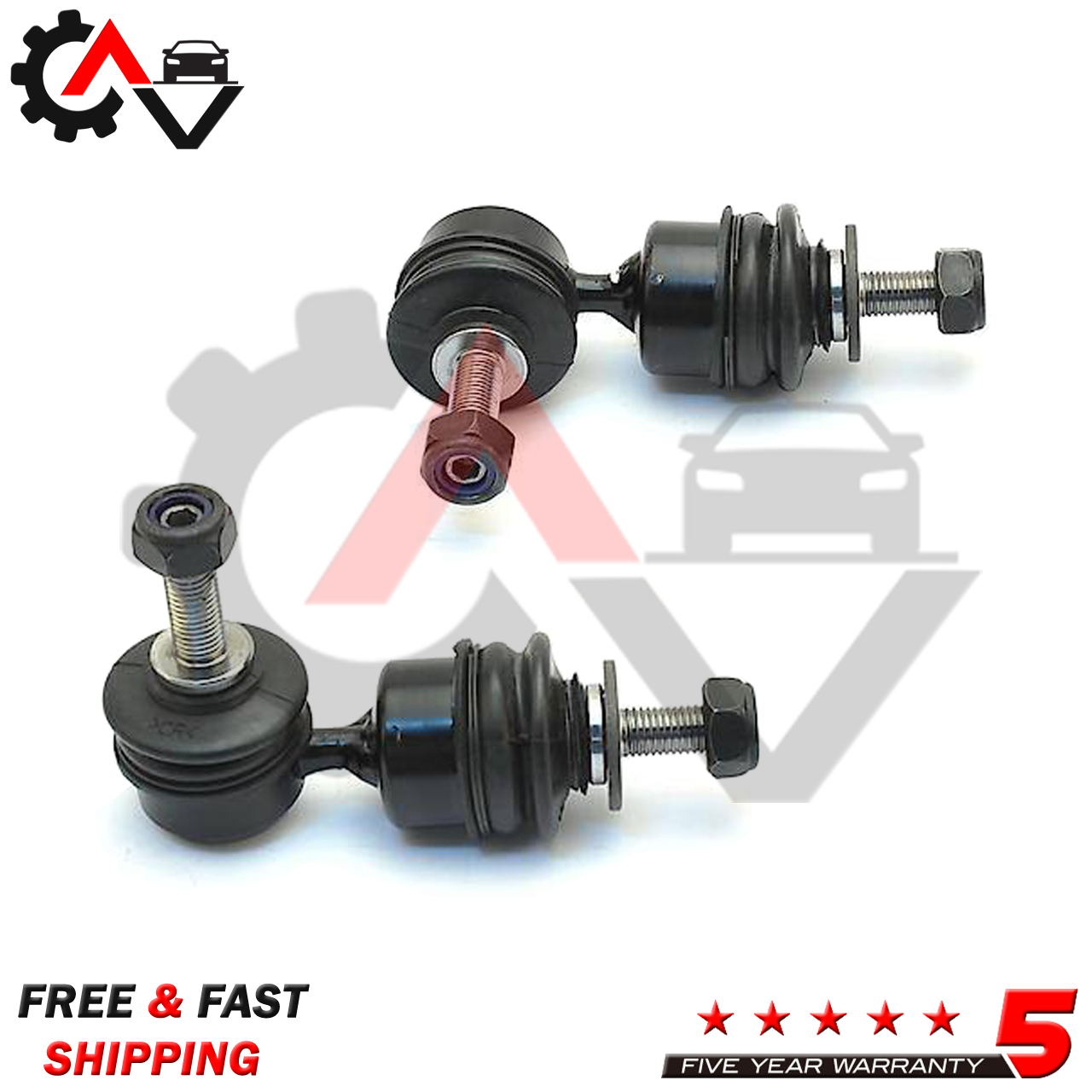 Package include One Sway Bar Link Only 2009 fits Mazda 6 Front Right Suspension Stabilizer Bar Link With Five Years Warranty