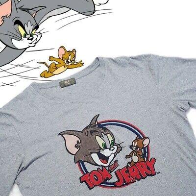 Vintage Iceberg Long-Sleeve T-Shirt | Medium | Tom and Jerry | Rare