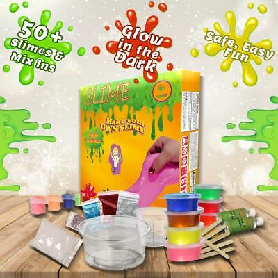 DIY Slime Kit For Girls And Boys Slime Making Kit Glitter with Everything In It -