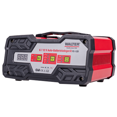 B Ware WALTER Auto Batterieladegerät mit Starthilfe 6V12V