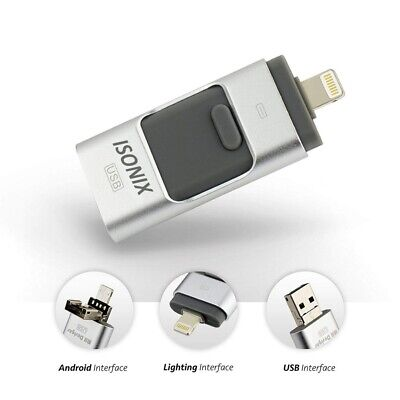 USB i Flash Drive Disk Storage Memory Stick For iPhone iPad PC IOS Android 64GB