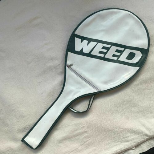 Weed Tennis Racquet Cover