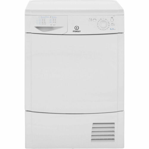 Indesit IDC8T3B Eco Time B Rated 8Kg Condenser Tumble Dryer White