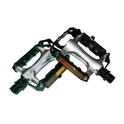 "New Bicycle VP-Style Alloy Pedals 1//2/"" Silver."