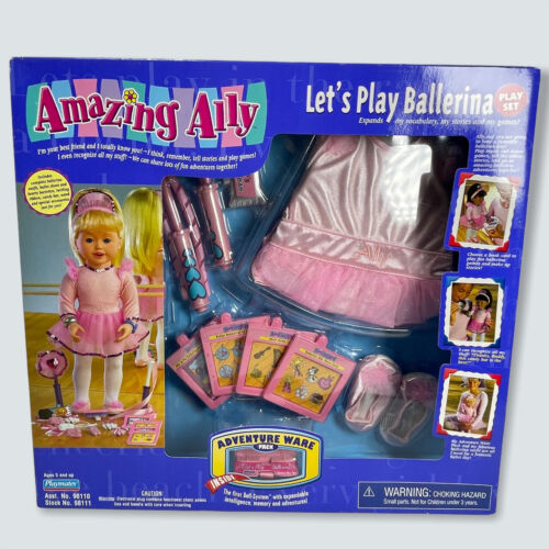 1999 Playmates AMAZING ALLY LET