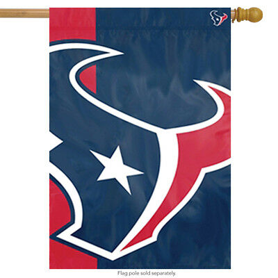Houston Texans Bold Logo House Flag NFL Licensed Banner Flag  24