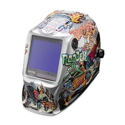 Lincoln Electric K4440-4 Viking 3350 Auto Darkening Welding Helmet With 4c Lens