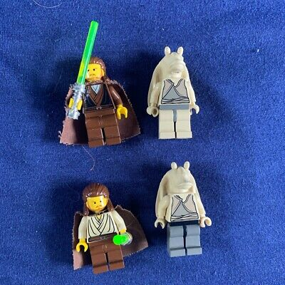 lego star wars qui gon jinn And JARJAR Binks
