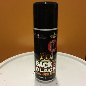 regin stove range back to black coal paint spray regz65. Black Bedroom Furniture Sets. Home Design Ideas