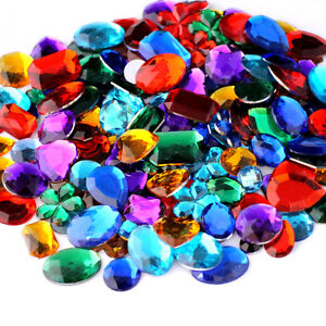 Craft jewels ebay for Plastic gems for crafts