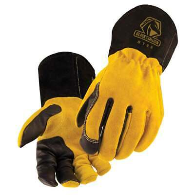 Black Stallion Bsx Bt88 Xtreme Kidskincowhide Tig Welding Gloves Large