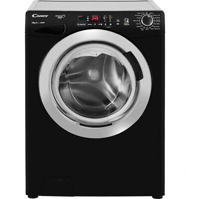 Candy GVS1410DC3B Grand'O Vita A+++ Rated 10Kg 1400 RPM Washing Machine Black