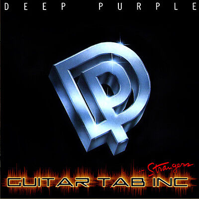Deep Purple Guitar Tabs (Deep Purple Guitar Tab PERFECT STRANGERS Lessons on Disc Ritchie)