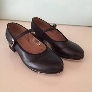 Tap shoes black - kids size 4.5 Ardross Melville Area Preview