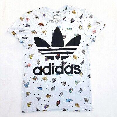 Jeremy Scott x Adidas Originals T-Shirt   Pale Blue   Small   Rare
