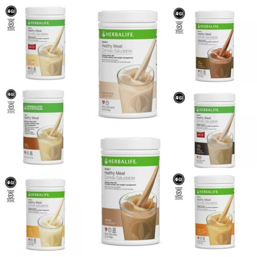 NEW Herbalife FORMULA 1 HEALTHY MEAL SHAKE MIX 750g (8 FLAVORS) - FREE SHIPPING!