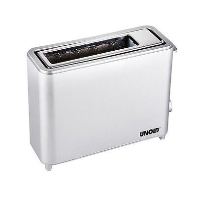 Edelstahl 1-Scheiben Toaster in schickem Design 550 Watt UNOLD 38110