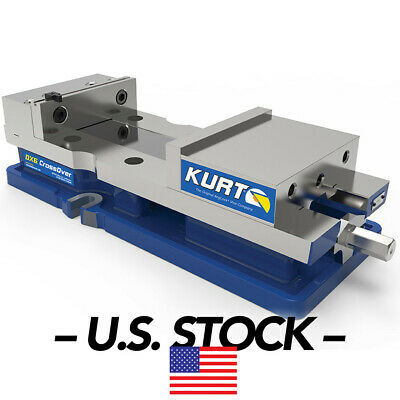 Kurt 6 In Jaw Width 9 In Jaw Cap Opening Stationary Machine Vise Dx6