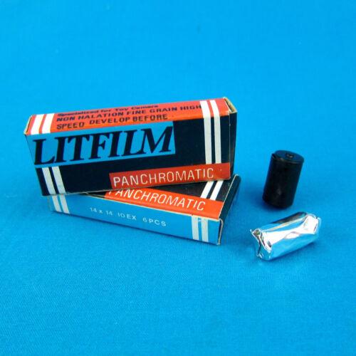 1 VTG Box LITFILM Panchromatic 17.5mm Spy/Toy Camera Subminiature FILM *60 EXP*