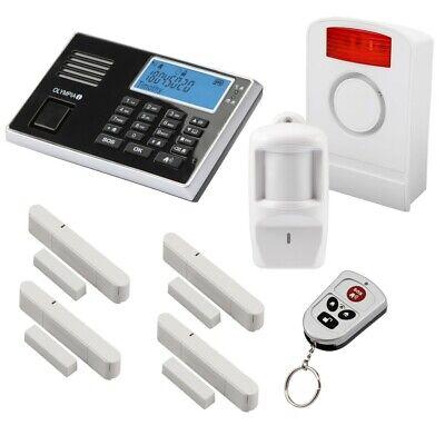 Olympia Alarmanlage GSM Funk Hausalarmanlage DELUXE Einbruch Sicherheit System