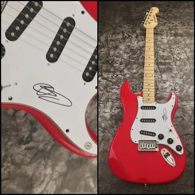 GFA Aaron Bruno Sail Rock Star * AWOLNATION * Signed Electric Guitar A2 COA