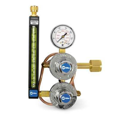 Miller Smith 35-30-320 Co2 Flowmeter Regulator With Heat Exchanger