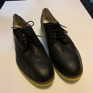 Cole haan wingtip nike yellow size 12