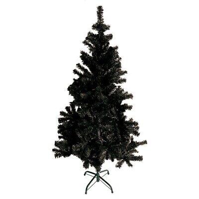 Albero di Natale Artificiale 60cm Nero Albero Finto Albero di Natale Supporti