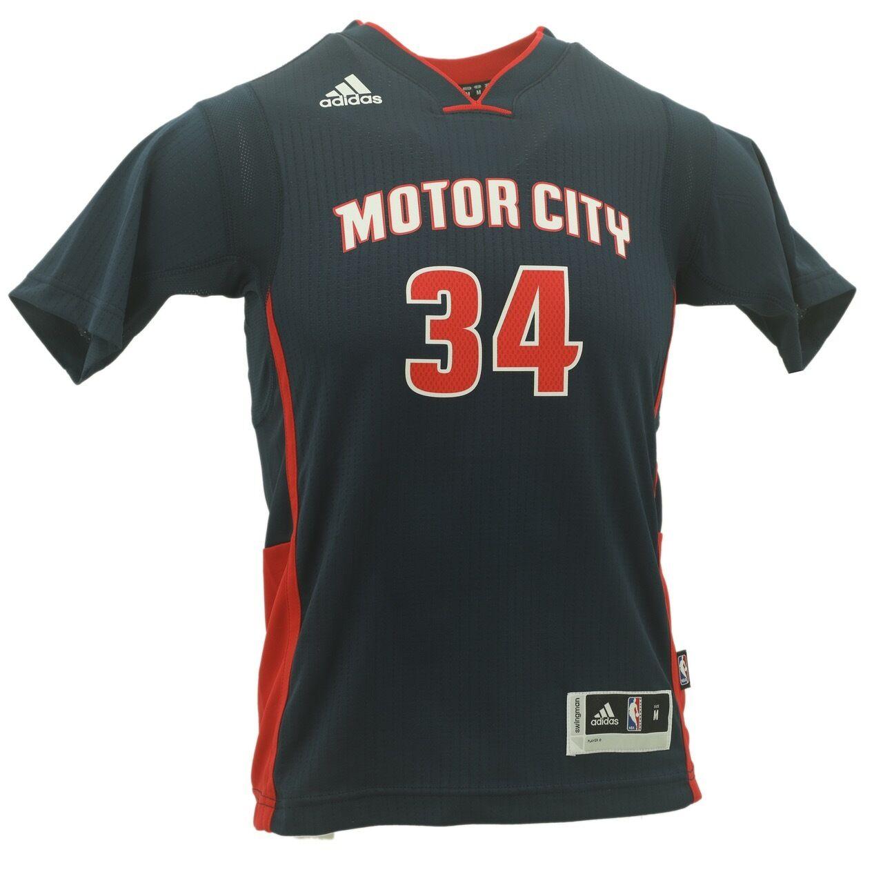 Adidas Tobias Harris Youth Size Detroit Pistons NBA Swingman Jersey New  With Tag 9f21d8dea