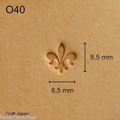 Punziereisen, Lederstempel, Punzierstempel, Leather Stamp, O40 - Craft Japan