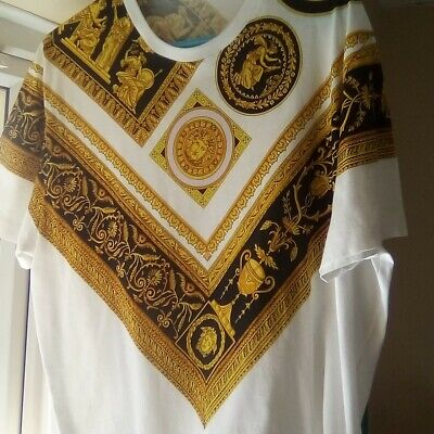 Mens versace t shirt medium