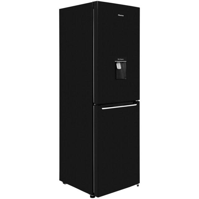 Hisense RB381N4WB1 A+ Fridge Freezer Frost Free 50/50 60cm Free Standing Black
