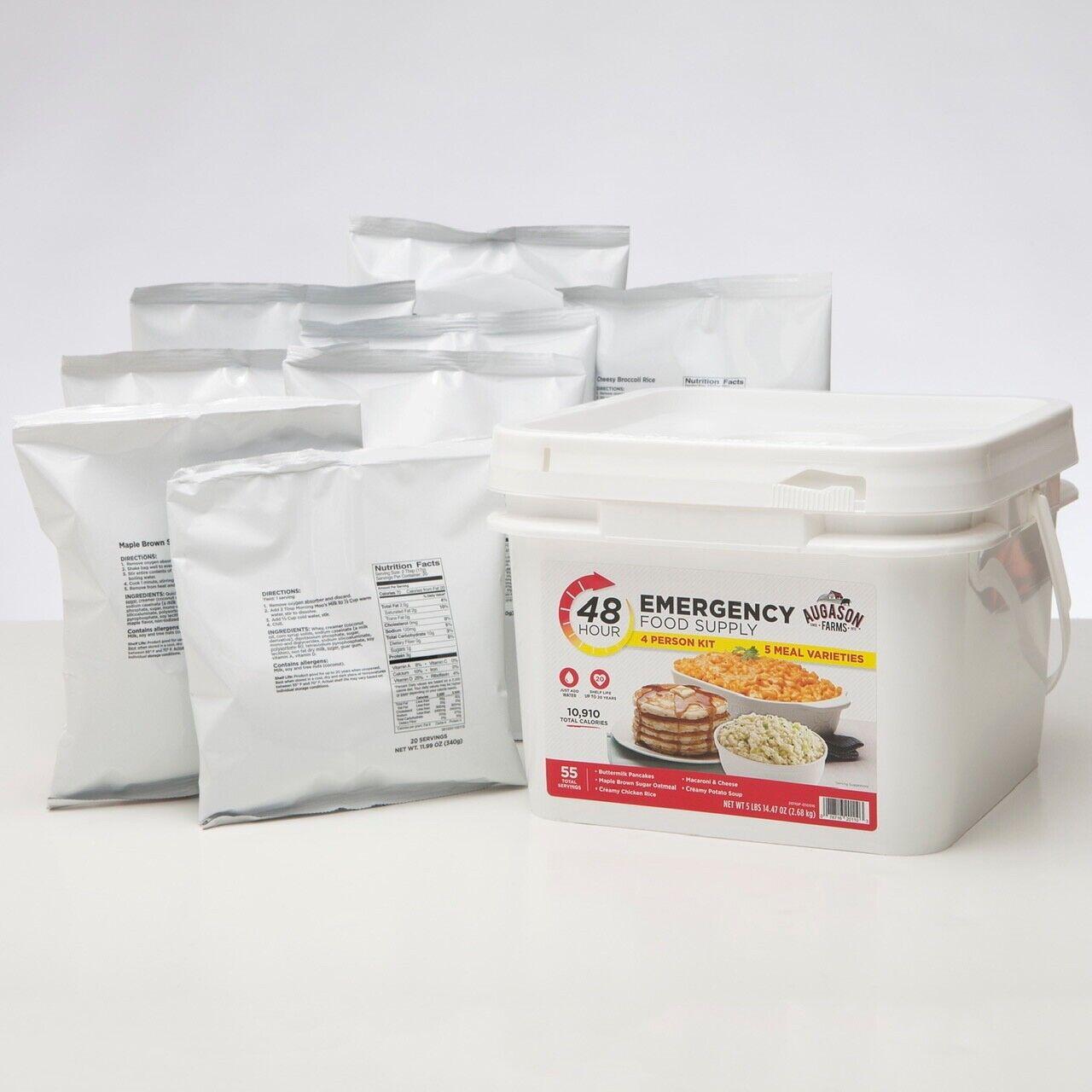 Augason Farms 48-Hour 4-Person Emergency Food Supply Kit 55