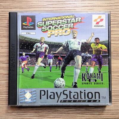 International Superstar Soccer Pro per Sony PlayStation / PS1 // PAL SLES-00559