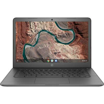 "HP 14-db0003na 14"" Chromebook AMD A4 9120 4GB RAM 32GB eMMC Laptop"