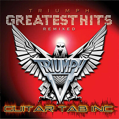 Triumph Guitar Tab GREATEST HITS Lessons on Disc on Rummage